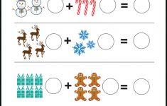 Free Printable Christmas Math Worksheets Kindergarten