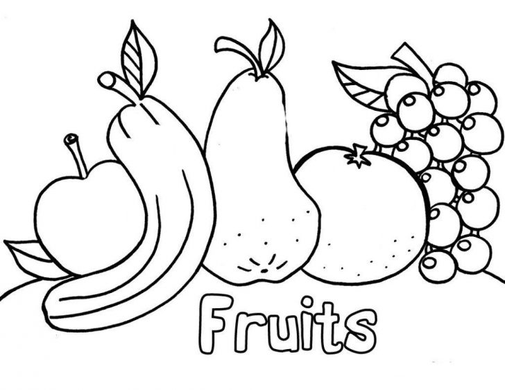 Free Printable Coloring Worksheets For Kindergarten