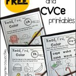 Free Digraph And Cvce Printables – The Kindergarten Connection | Free Printable Digraph Worksheets For First Grade