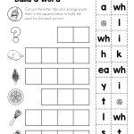 Free Digraph Wh: Phonics Word Work {Multiple Phonograms}   Tutoring   Free Printable Phoneme Segmentation Worksheets