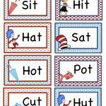 Free Dr Suess Printables Preschool Seuss Rhyming Printable | Free Printable Dr Seuss Math Worksheets