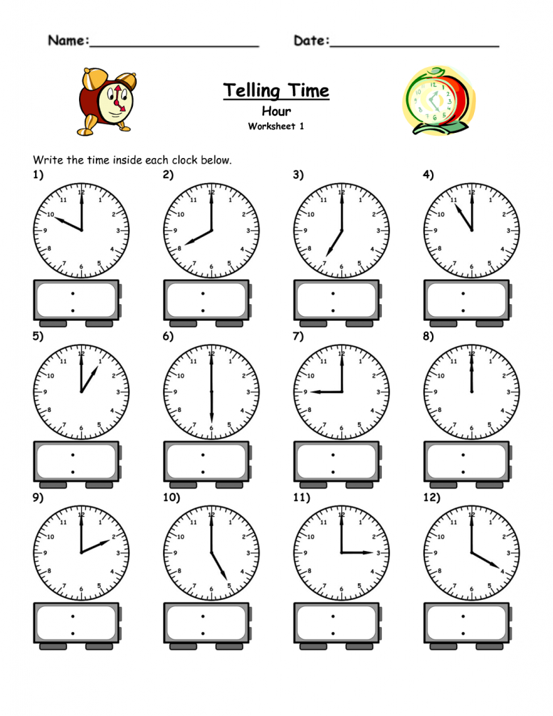 Free Elapsed Time Worksheets | Kiddo Shelter | Elapsed Time Worksheets Free Printable