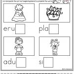 Free Ending Blends Activities | Miss Faleena's Store | Kindergarten | Free Printable Ending Blends Worksheets