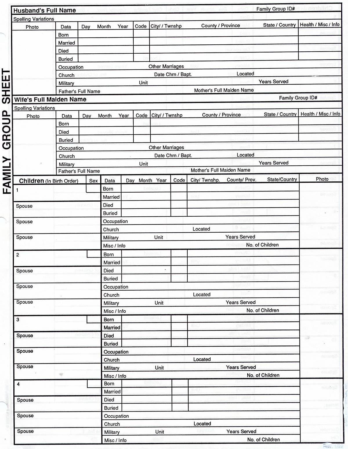 Free Family Tree Print Out   Genealogy   Genealogy Chart, Family   Free Printable Genealogy Worksheets
