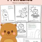 Free Groundhog Day Printables!   Mamas Learning Corner | Free Printable Worksheets For Groundhog Day