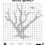 Free Halloween Printable Activities Halloween Word Search   Free | Free Printable French Halloween Worksheets
