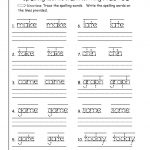 Free Handwriting Worksheets For First Grade – Favoritebook.club | First Grade Vocabulary Worksheets Printable