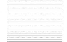 Create Cursive Worksheets Printable