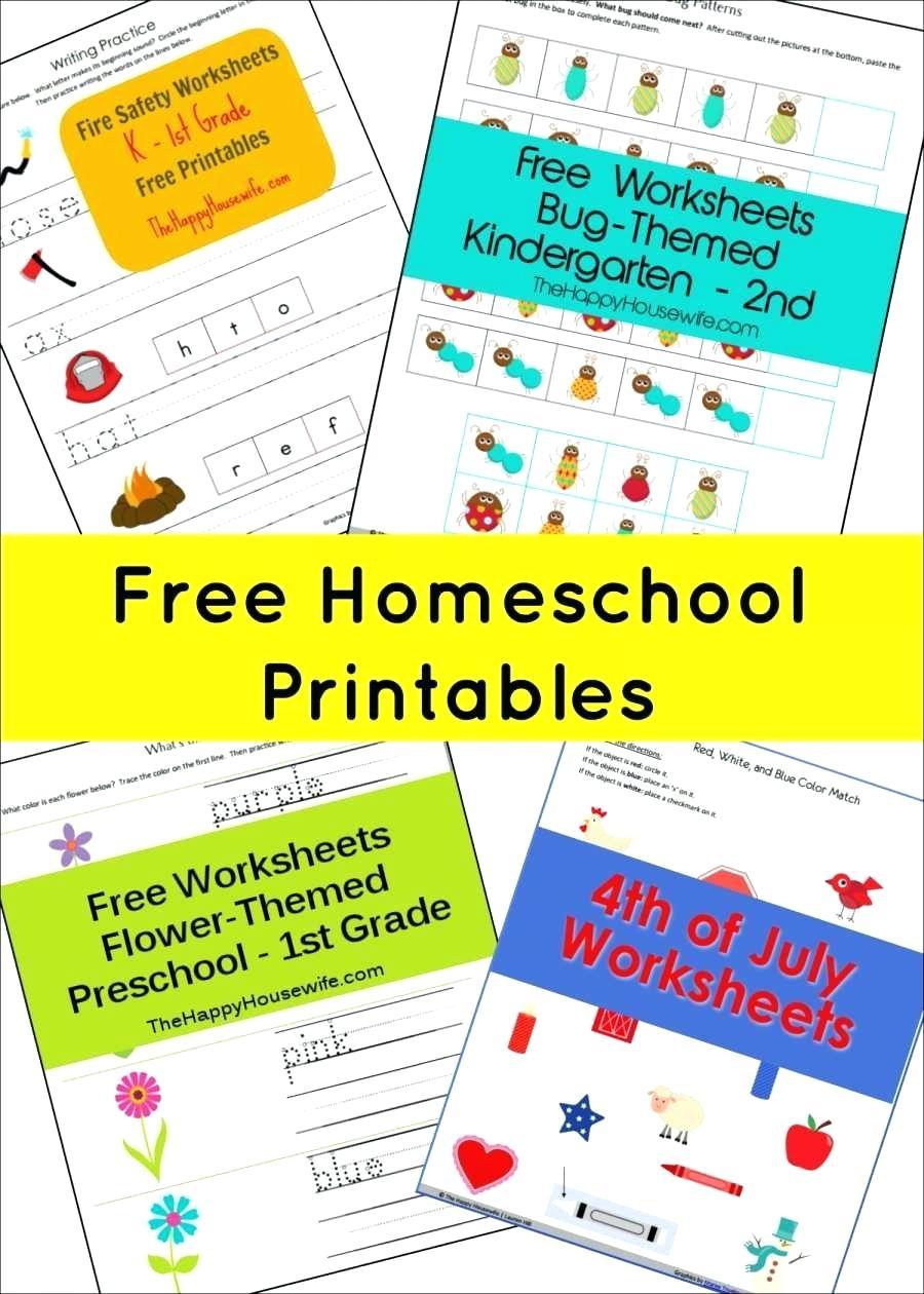 Free Homeschool Printable Worksheets Math The Happy Home Scho | Homeschool Printable Worksheets Kindergarten