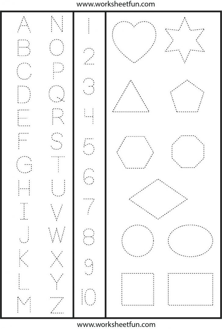 Free Printable Preschool Worksheets Age 3