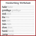 Free Preschool Writing Worksheets – With Kindergarten Handwriting | Preschool Writing Worksheets Free Printable