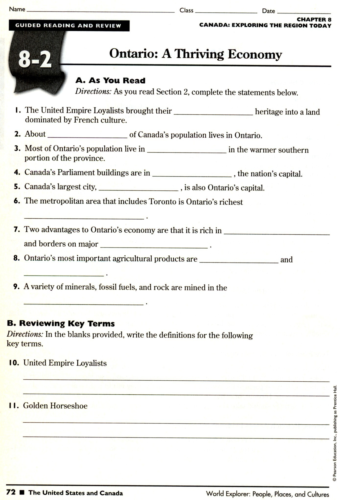 Free Printable 8Th Grade Social Studies Worksheets ...