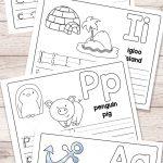 Free Printable Alphabet Book   Alphabet Worksheets For Pre K And K | Free Printable A Worksheets
