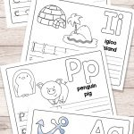 Free Printable Alphabet Book   Alphabet Worksheets For Pre K And K | Printable Worksheets For Preschoolers The Alphabets