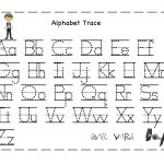 Free Printable Alphabet Letter Tracing Worksheets | Angeline   Free | Free Printable Abc Tracing Worksheets