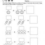 Free Printable Halloween Math Worksheet For Kindergarten   Printable Halloween Math Worksheets