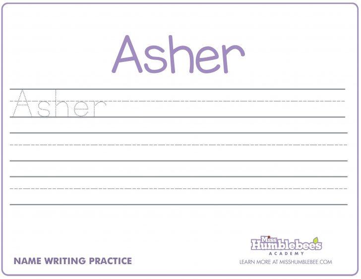 Handwriting Names Printable Worksheets