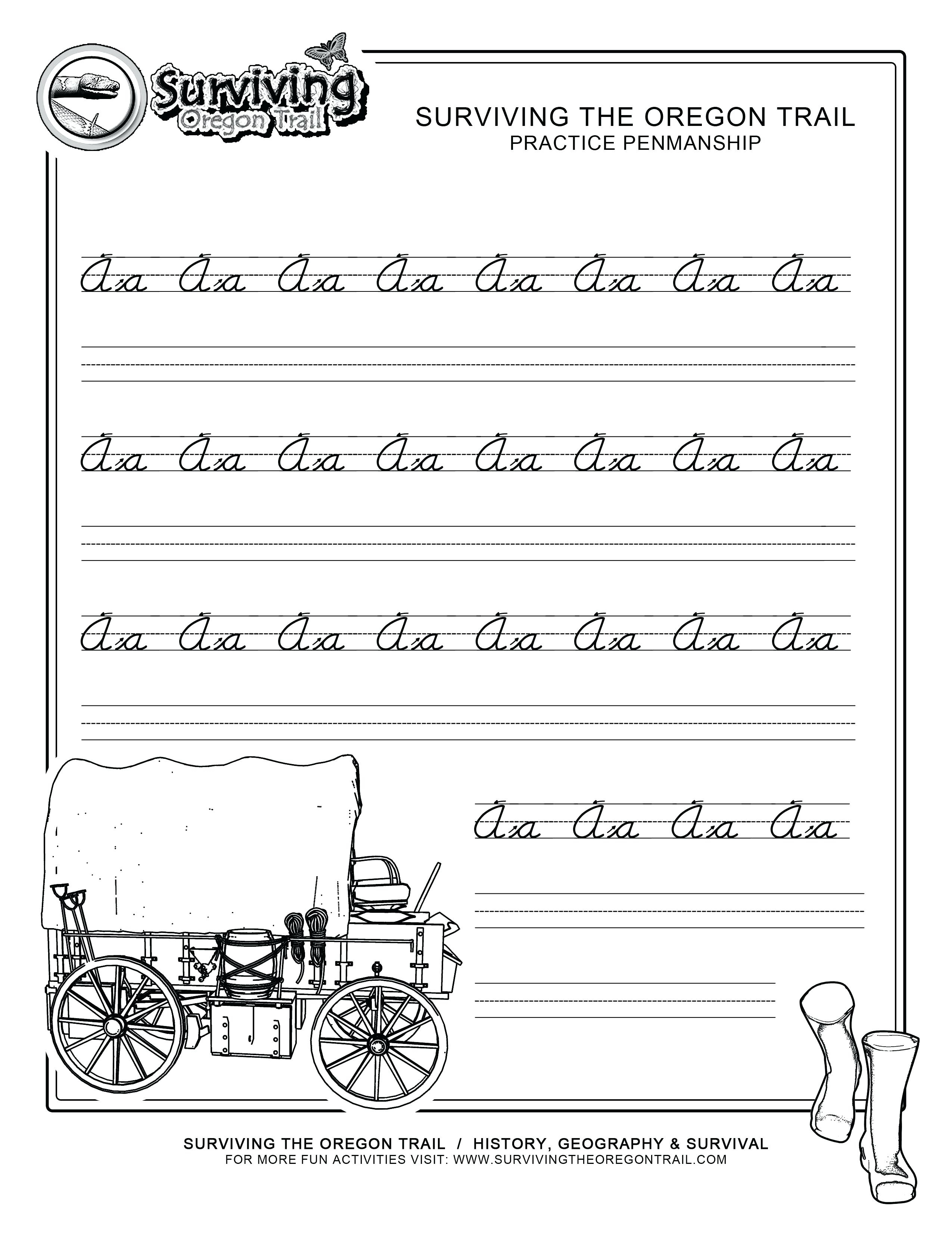 Free Printable Handwriting Practice Worksheets – Pointeuniform.club | Free Printable Worksheets Handwriting Practice
