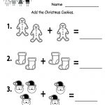 Free Printable Holiday Worksheets | Free Christmas Cookies Worksheet | Free Printable Christmas Worksheets