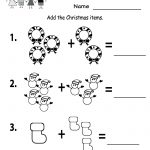 Free Printable Holiday Worksheets | Free Printable Kindergarten | Free Printable Christmas Kindergarten Worksheets