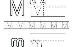 Letter M Printable Worksheets