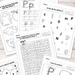 Free Printable Letter P Worksheets   Alphabet Worksheets Series | Free Printable Letter P Worksheets