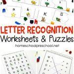 Free Printable Letter Recognition Worksheets And Puzzles   Money | Free Printable Letter Recognition Worksheets