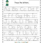 Free Printable Letter Worksheets For Preschoolers To Download   Math | Printable Letter Worksheets