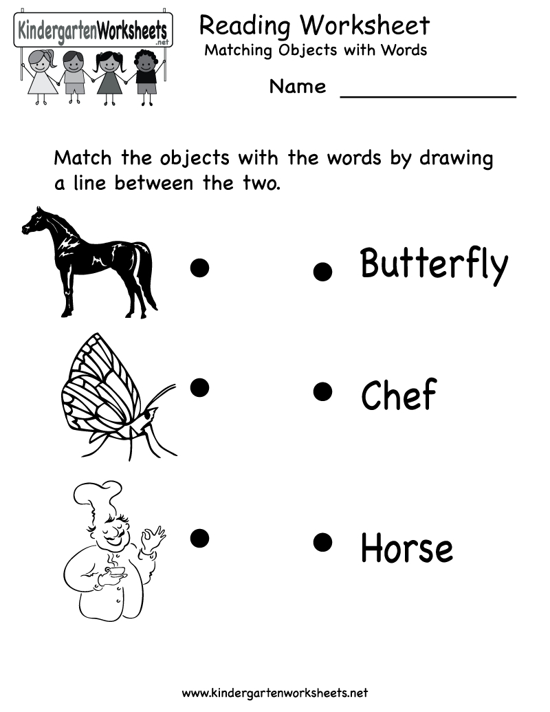 Free Printable Letter Worksheets Kindergarteners | Reading Worksheet | Free Printable Homework Worksheets