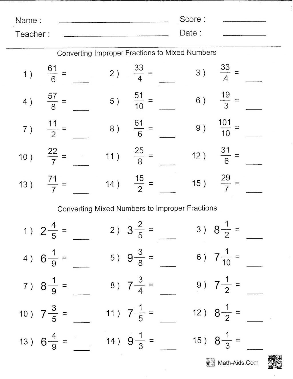 Free Printable Math Worksheets 6Th Grade Order Operations | Free | Free Printable Math Worksheets 6Th Grade Order Operations