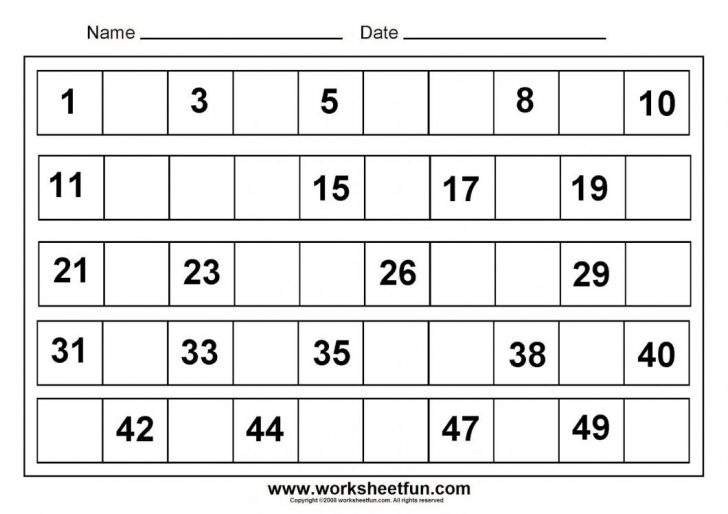 Maths Worksheets For Kindergarten Printable