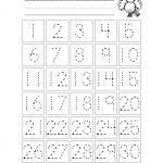 Free Printable Number Chart 1 30 | Kinder | Kindergarten Worksheets | Free Printable Number Worksheets