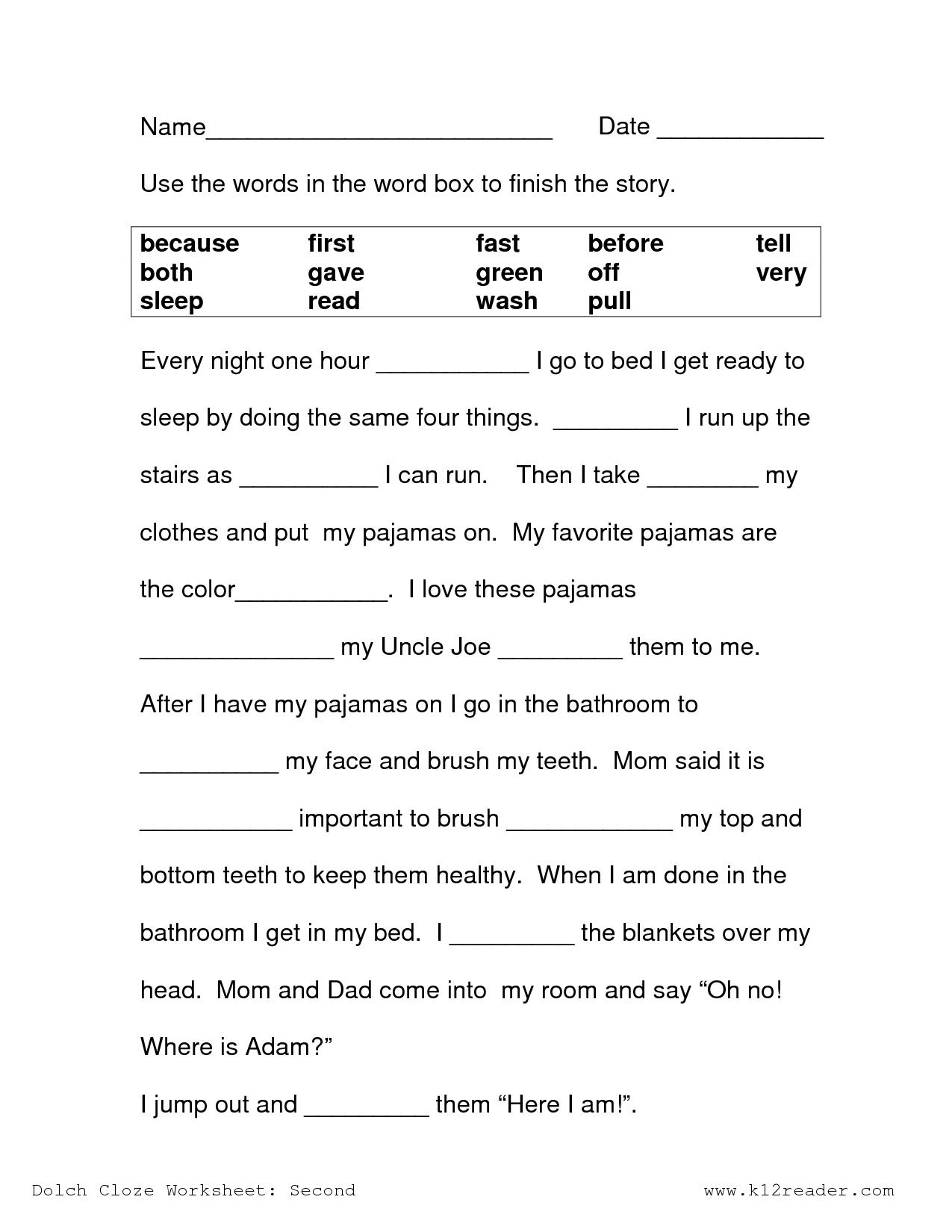 Free Printable Reading Comprehension Worksheets 3Rd Grade To Print | Free Printable 3Rd Grade Reading Worksheets