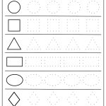 Free Printable Shapes Worksheets For Toddlers And Preschoolers | Free Printable Shapes Worksheets