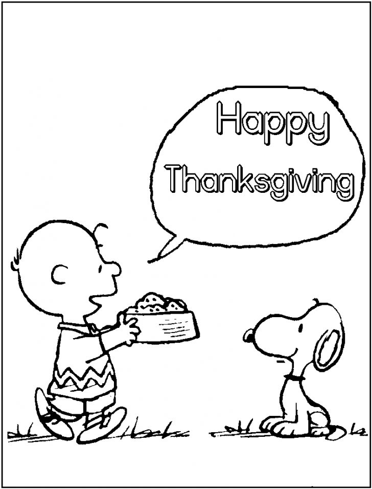 Free Printable Thanksgiving Coloring Pages Worksheets