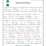 Free Printable Traceable Letters Free Printable Preschool Worksheets | Free Printable Preschool Worksheets