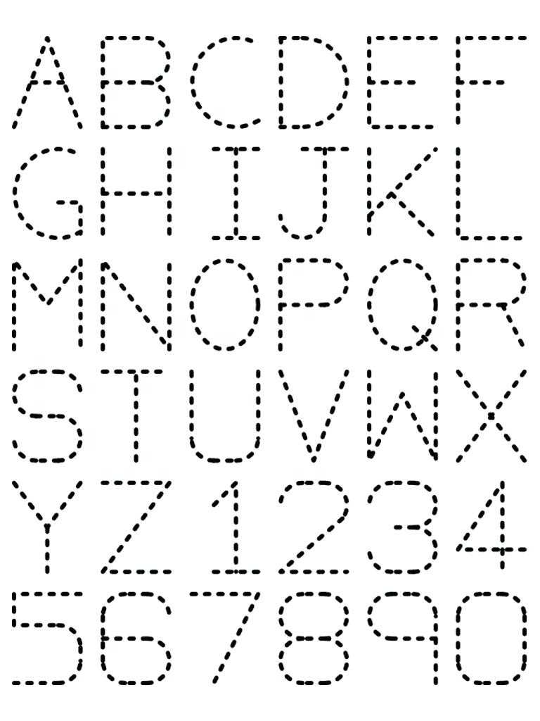 Free Printable Traceable Letters Free Printable Preschool Worksheets | Free Printable Tracing Letters And Numbers Worksheets