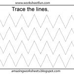 Free Printable Tracing Worksheets Preschool | Preschool Worksheets | Free Printable Tracing Worksheets