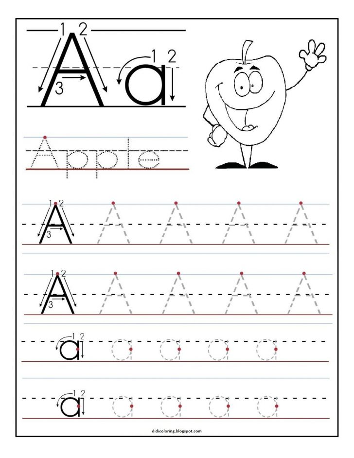 Learn Your Letters Printable Worksheets