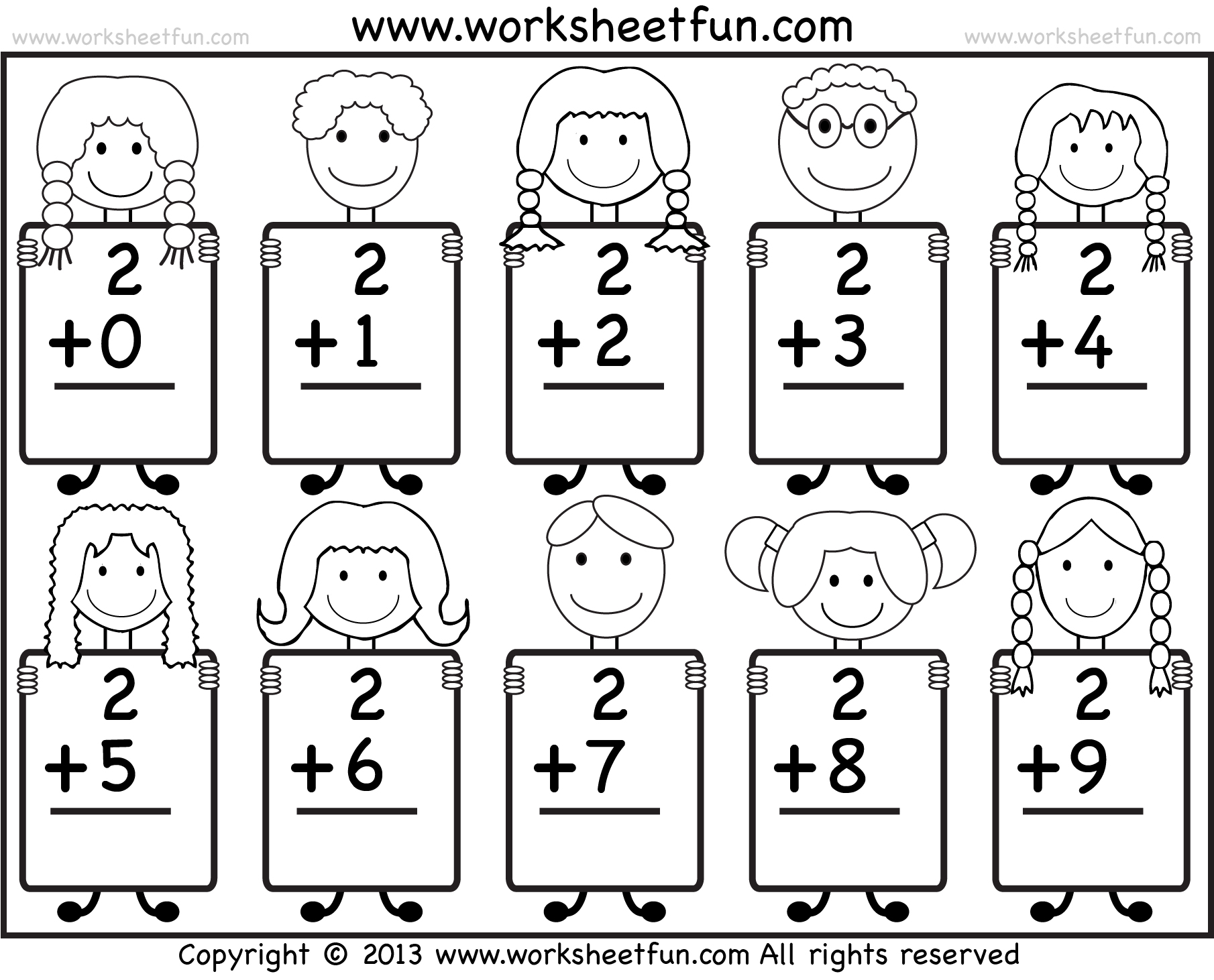 Free Printable Worksheets For Kindergarten – With 5Th Grade Math | Maths Worksheets For Kindergarten Printable