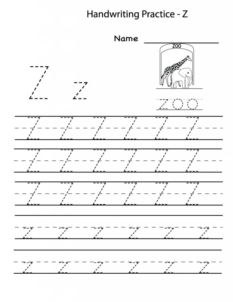 Free Printable Worksheets For Preschoolers For The Letter Z | Letter Z Worksheets Free Printable