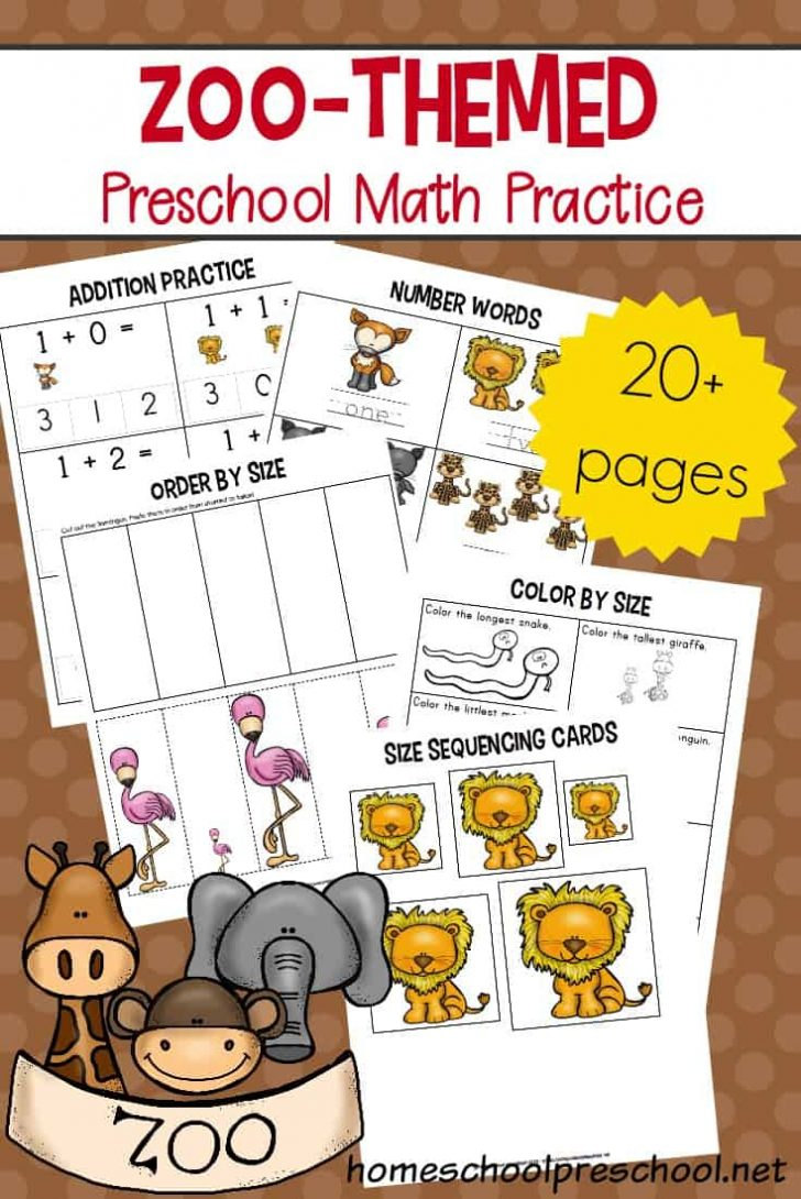 Free Printable Zoo Worksheets
