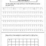 Free Skip Counting Worksheets | Skip Counting By 3 Printable Worksheets
