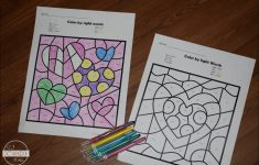 Free Printable Kindergarten Worksheets Color Words