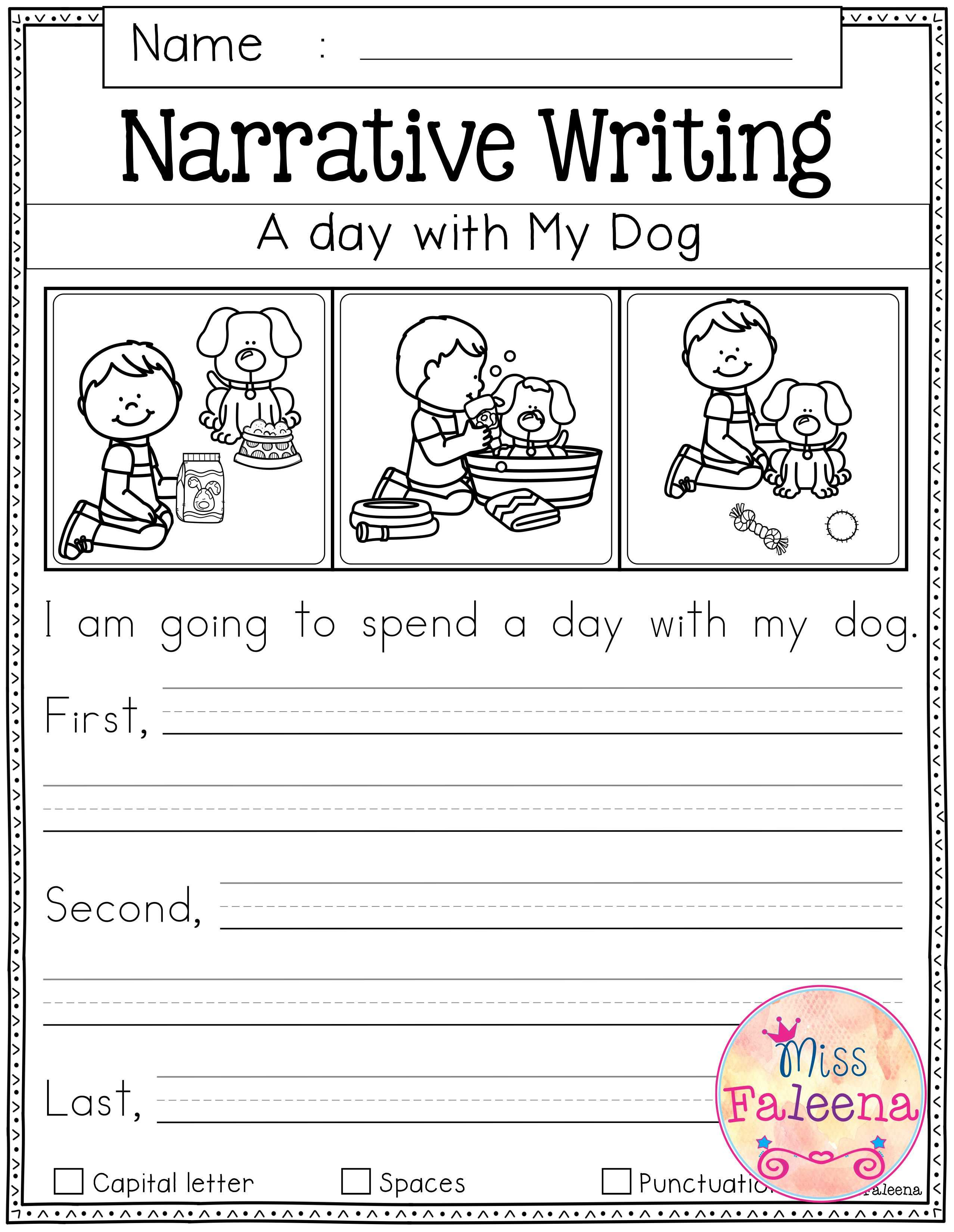 Free Writing Prompts | First Grade Freebies | First Grade Writing | Free Printable Language Arts Worksheets For 1St Grade