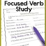 French Verb Faire Worksheets | Teaching In Pantoufles | French Verbs | Printable French Worksheets For High School