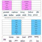 Gender: Female   Male Worksheet   Free Esl Printable Worksheets Made | Free Printable Worksheets On Genders