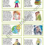 Giving Advice   Esl Worksheetsilvia.patti | Giving Advice Printable Worksheets