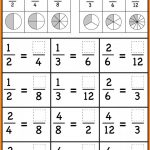 Grade 3Rd Fractions Worksheets Image Free Printable Comparing   Free | Free Printable First Grade Fraction Worksheets