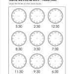 Grade Level Worksheets | Maths | 2Nd Grade Math Worksheets, First | Printable Telling Time Worksheets 1St Grade